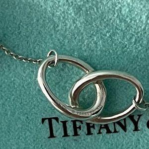 Tiffany & Co. Double Loop Necklace Pendant